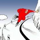 Конькобежец на повороте, Кинчаров Николай