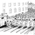 Демонстрация (ч/б), Ненашев Владимир