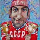 Советский хоккеист Борис Михайлов, Дергачёв Олег