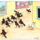 белая ворона в галерее, Кононов Дмитрий