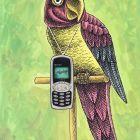 Говорящий попугай, Семеренко Владимир