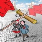 Ленин на субботнике, Сергеев Александр