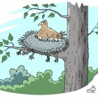 Гнездо из ёжика, Дубинин Валентин