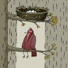 Под гнездом, Александров Василий