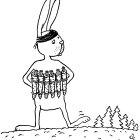 Заяц-террорист, Александров Василий