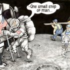 Первый шаг человека на Луне, Ашмарин Станислав