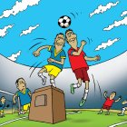 Борьба за мяч, Смагин Максим