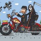 Мотоциклист, Белозёров Сергей