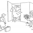 Конь в шкафу, Александров Василий