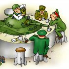 Военный бар, Андросов Глеб