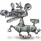 Робот-ищейка, Андросов Глеб