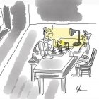Как художник по свету со следователем беседовал, Строков Александр