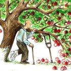 в саду, Семеренко Владимир
