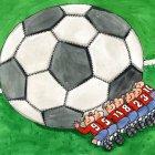 футбольный мяч, Семеренко Владимир