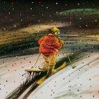 Экологическая лыжня, Сергеев Александр