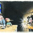 Рисунок из газеты ШАНС, Сергеев Александр