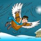 Икар зимой, Смагин Максим