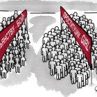 Две демонстрации, Строков Александр