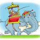 Моська на слоне, Смагин Максим