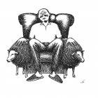 человек в кресле, Гурский Аркадий