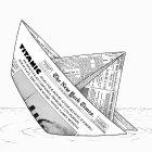 Бумажный «Титаник» (ч/б), Шмидт Александр