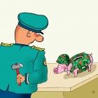 Свинка в каске, Александров Василий