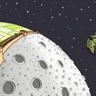 Китайская Стена на Луне, Александров Василий