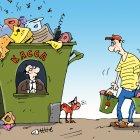 мужик и мусор, Кокарев Сергей