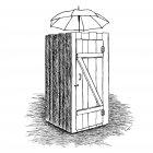 сельский туалет, Гурский Аркадий