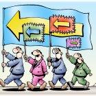 Флаги на демонстрации , Кийко Игорь