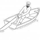 человек в лодке, Гурский Аркадий