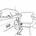 свинья в поезде, Гурский Аркадий