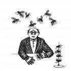 человек и мухи, Гурский Аркадий