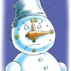 Снеговик-часы, Смагин Максим