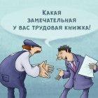 Трудовая книжка, Шмидт Александр