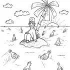 врач сидит на острове, Соколов Сергей