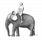 слон с наушниками, Гурский Аркадий