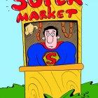 супермен - продавец в супермаркете, Соколов Сергей