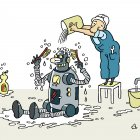 Робот моется сам, Александров Василий