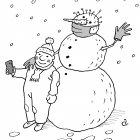 Снеговик в маске, Александров Василий