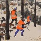 Дворники на снегу, Батов Антон