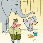 Слонёнок и сторож, Александров Василий