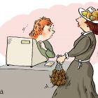 Шляпка с фруктами, Александров Василий