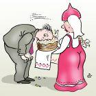 Торт на рушнике, Александров Василий