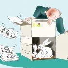 Кролики и копир, Александров Василий