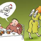 Ангел - курица, Александров Василий