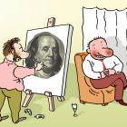 Портрет с долларом, Александров Василий