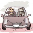 Собака-водитель, Александров Василий